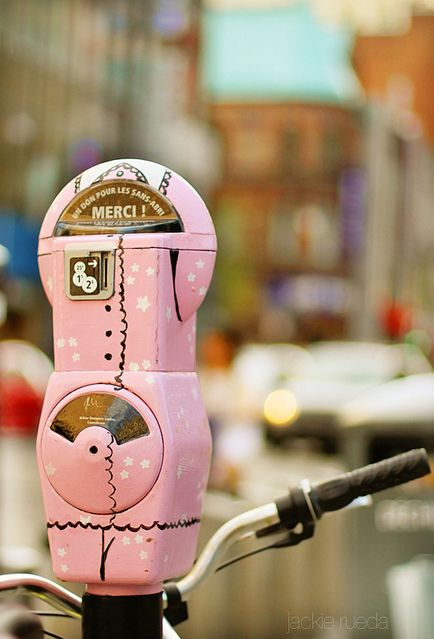 MONTREAL FOR YOUR EYES #01 - Parking meter