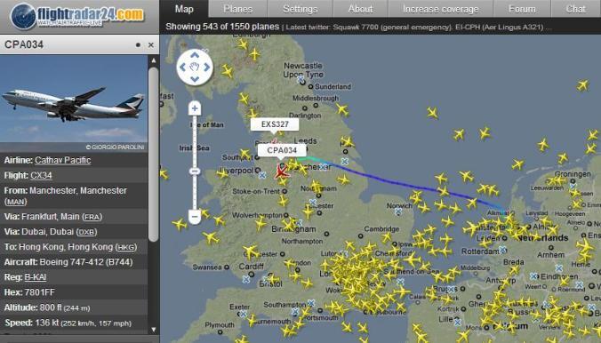flight track app para familia